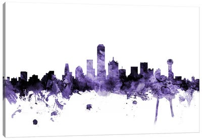 Dallas, Texas Skyline Canvas Art Print