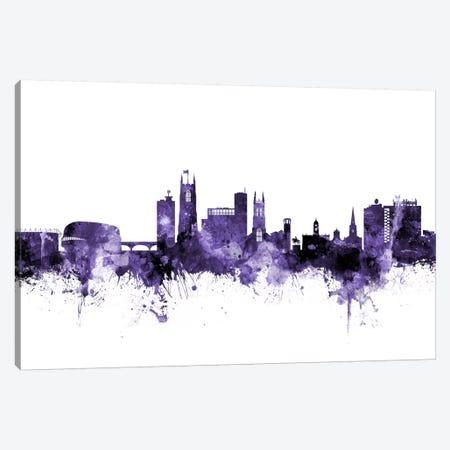 Derby, England Skyline Canvas Print #MTO579} by Michael Tompsett Canvas Print