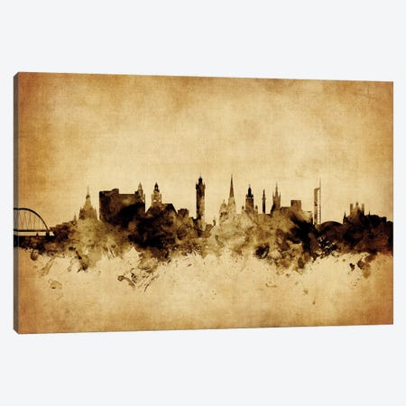 Glasgow, Scotland, United Kingdom Canvas Print #MTO57} by Michael Tompsett Canvas Print