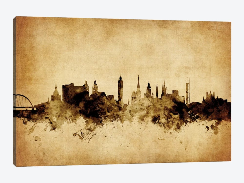 Glasgow, Scotland, United Kingdom by Michael Tompsett 1-piece Canvas Print