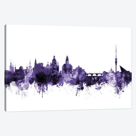 Dresden, Germany Skyline Canvas Print #MTO583} by Michael Tompsett Canvas Art