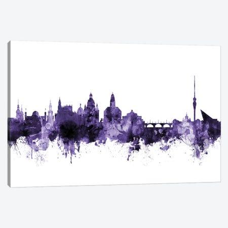 Dresden, Germany Skyline Canvas Print #MTO583} by Michael Tompsett Canvas Art