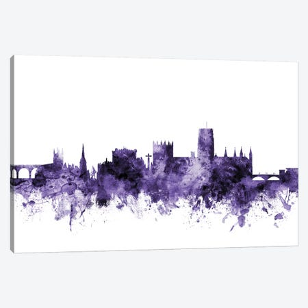 Durham, England Skyline Canvas Print #MTO586} by Michael Tompsett Canvas Art Print
