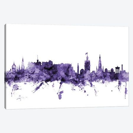 Edinburgh, Scotland Skyline Canvas Print #MTO589} by Michael Tompsett Canvas Art