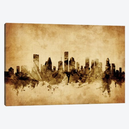 Houston, Texas, USA Canvas Print #MTO58} by Michael Tompsett Canvas Artwork