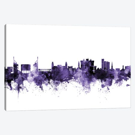 Fayetteville, Arkansas Skyline Canvas Print #MTO594} by Michael Tompsett Canvas Art