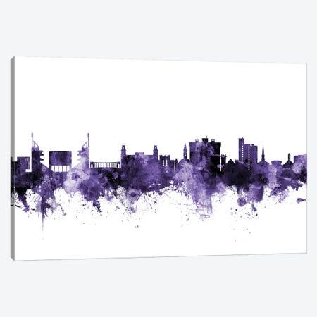 Fayetteville, Arkansas Skyline Canvas Print #MTO594} by Michael Tompsett Canvas Art