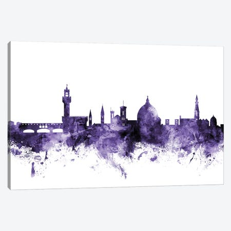 Florence, Italy Skyline Canvas Print #MTO595} by Michael Tompsett Canvas Artwork