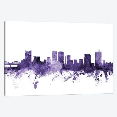 Fort Worth, Texas Skyline Canvas Print #MTO596} by Michael Tompsett Canvas Art