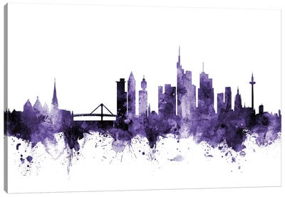 Frankfurt, Germany Skyline Canvas Art Print