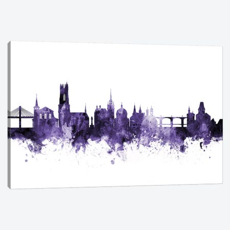 Fribourg, Switzerland Skyline Canvas Print #MTO599} by Michael Tompsett Art Print
