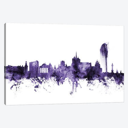 Geneva, Switzerland Skyline Canvas Print #MTO600} by Michael Tompsett Canvas Print