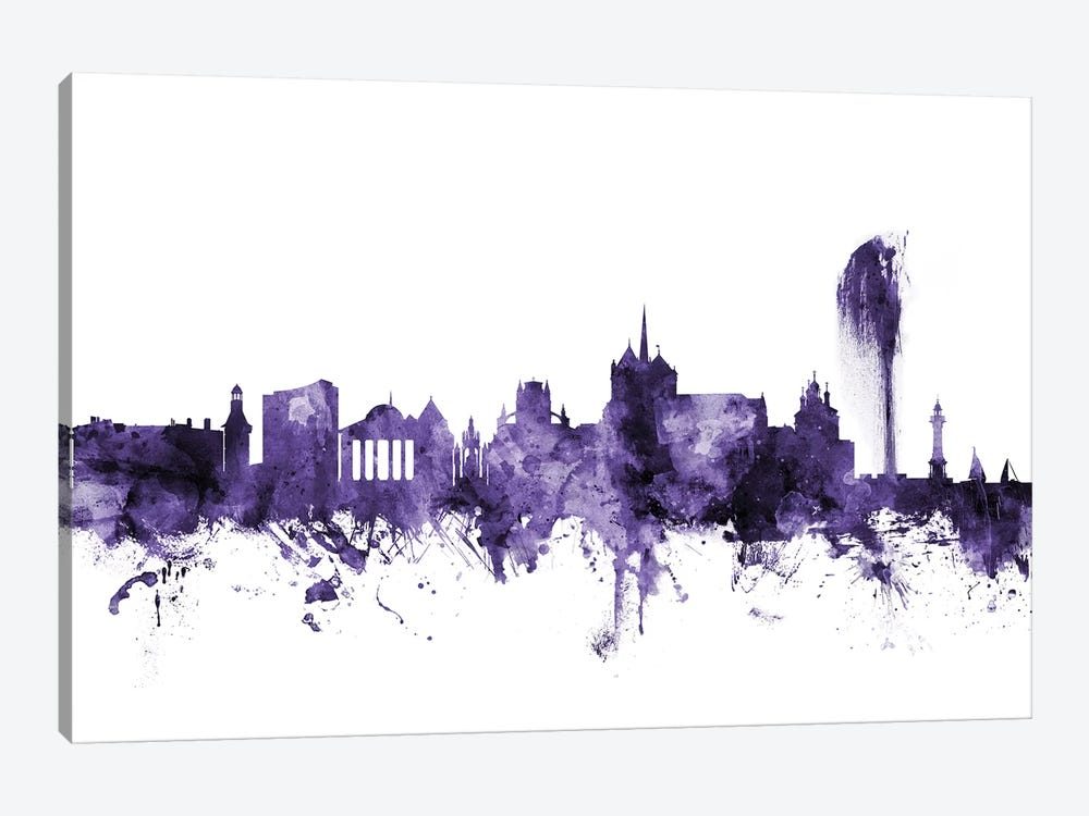 Geneva, Switzerland Skyline by Michael Tompsett 1-piece Art Print