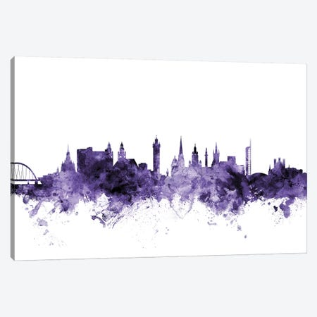 Glasgow, Scotland Skyline Canvas Print #MTO601} by Michael Tompsett Canvas Print
