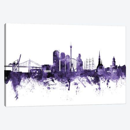 Gothenburg, Sweden Skyline Canvas Print #MTO602} by Michael Tompsett Canvas Print