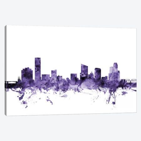 Grand Rapids, Michigan Skyline Canvas Print #MTO603} by Michael Tompsett Canvas Print