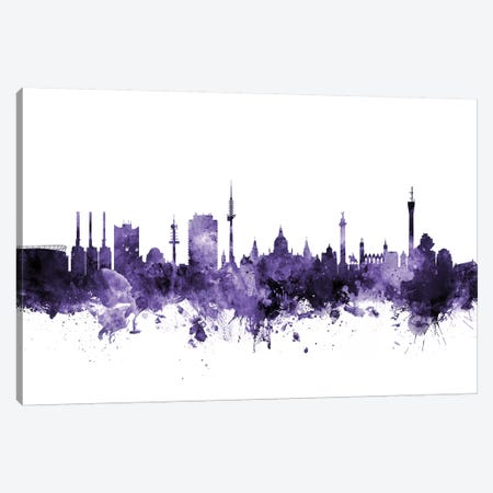 Hannover, Germany Skyline Canvas Print #MTO606} by Michael Tompsett Canvas Art