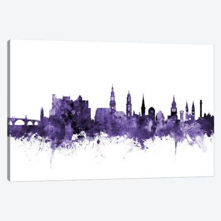 Heidelberg, Germany Skyline Canvas Print #MTO607} by Michael Tompsett Canvas Art