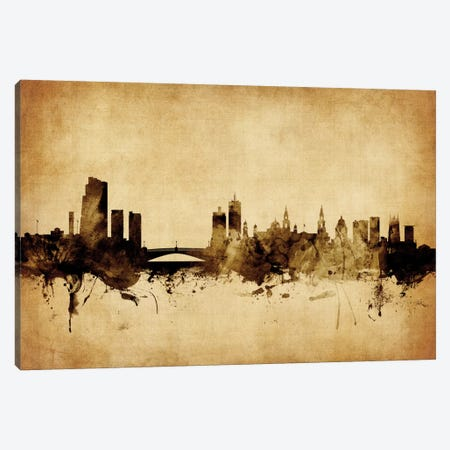 Leeds, England, United Kingdom Canvas Print #MTO60} by Michael Tompsett Canvas Print
