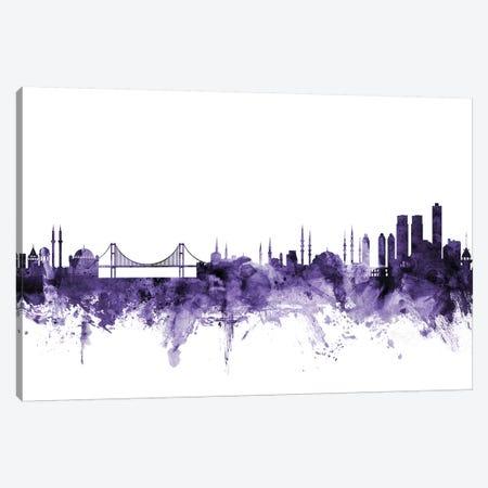 Istanbul, Turkey Skyline Canvas Print #MTO613} by Michael Tompsett Canvas Wall Art