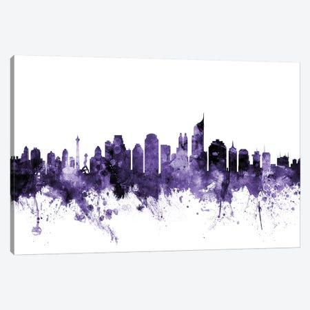 Jakarta, Indonesia Skyline Canvas Print #MTO615} by Michael Tompsett Canvas Art Print