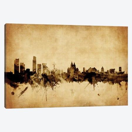 Liverpool, England, United Kingdom Canvas Print #MTO61} by Michael Tompsett Canvas Print