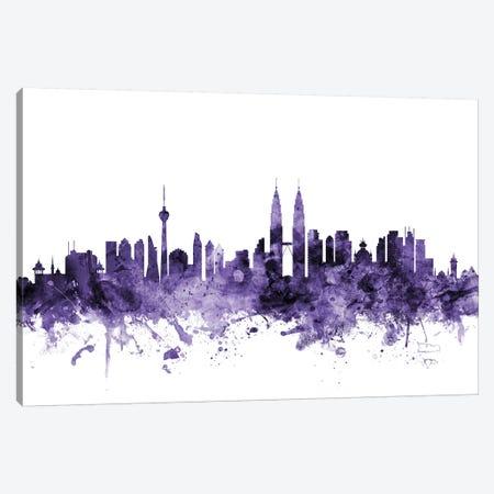Kuala Lumpur, Malaysia Skyline Canvas Print #MTO621} by Michael Tompsett Canvas Print