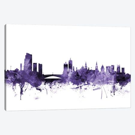 Leeds, England Skyline Canvas Print #MTO625} by Michael Tompsett Canvas Artwork