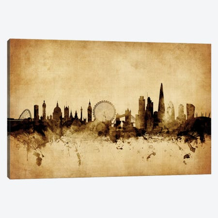 London, England, United Kingdom I Canvas Print #MTO62} by Michael Tompsett Canvas Art Print