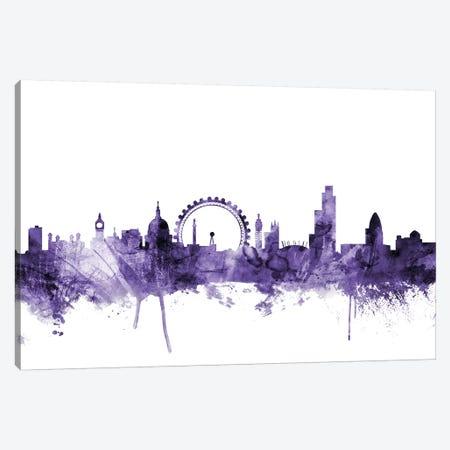 London, England Skyline II Canvas Print #MTO633} by Michael Tompsett Canvas Art