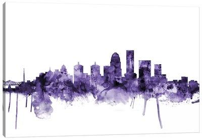 Louisville, Kentucky Skyline Canvas Art Print