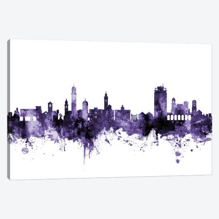 Lugano, Switzerland Skyline Canvas Print #MTO639} by Michael Tompsett Canvas Artwork