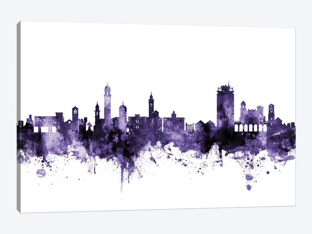 Lugano, Switzerland Skyline by Michael Tompsett 1-piece Art Print