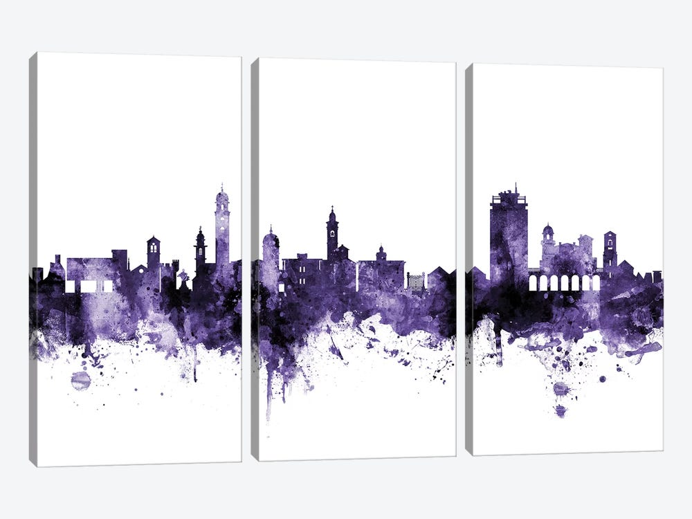 Lugano, Switzerland Skyline by Michael Tompsett 3-piece Art Print