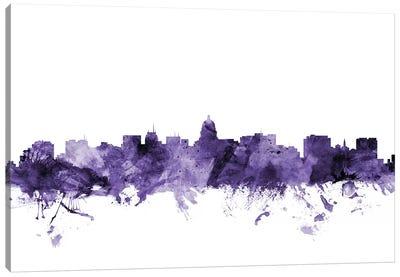 Madison, Wisconsin Skyline Canvas Art Print