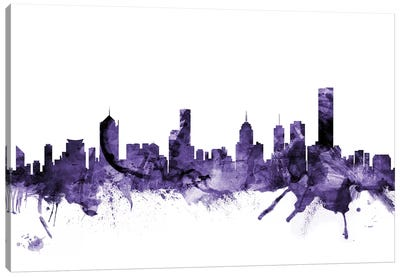Melbourne, Australia Skyline Canvas Art Print