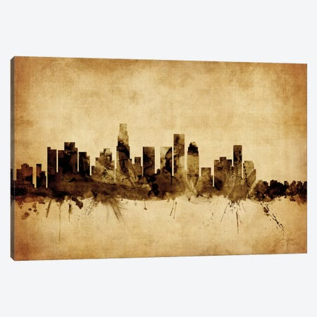 Los Angeles, California, USA Canvas Print #MTO64} by Michael Tompsett Canvas Artwork