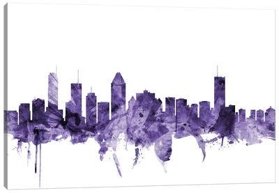 Montreal, Canada Skyline Canvas Art Print