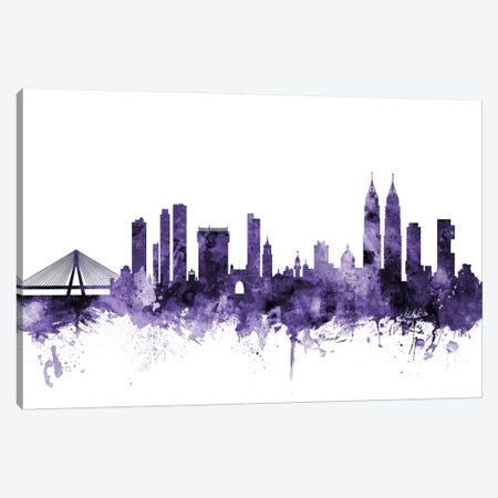 Mumbai (Bombay), India Skyline Canvas Print #MTO654} by Michael Tompsett Canvas Art Print
