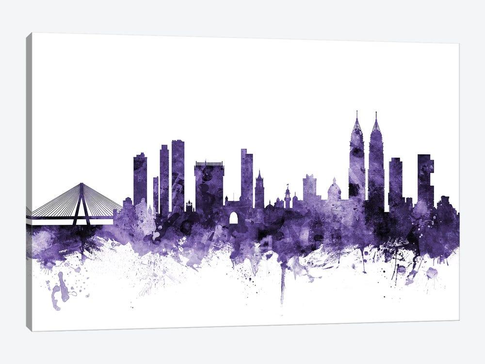 Mumbai (Bombay), India Skyline by Michael Tompsett 1-piece Canvas Art