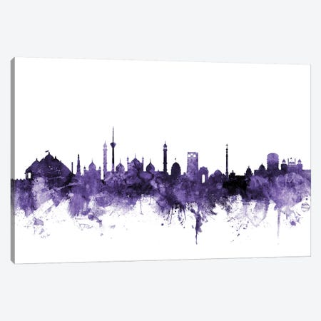 New Delhi, India Skyline Canvas Print #MTO657} by Michael Tompsett Art Print