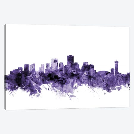New Orleans, Louisiana Skyline Canvas Print #MTO658} by Michael Tompsett Canvas Art