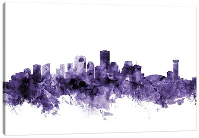 New Orleans, Louisiana Skyline Canvas Art Print