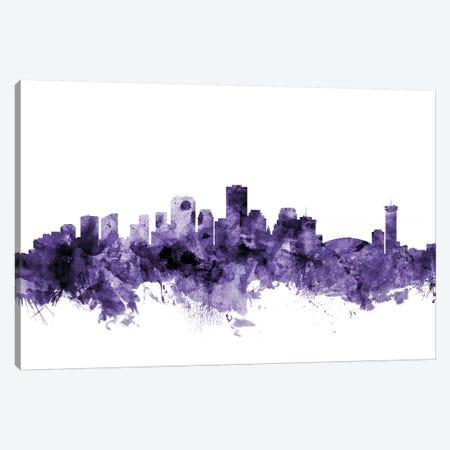 New Orleans, Louisiana Skyline Canvas Print #MTO658} by Michael Tompsett Canvas Art