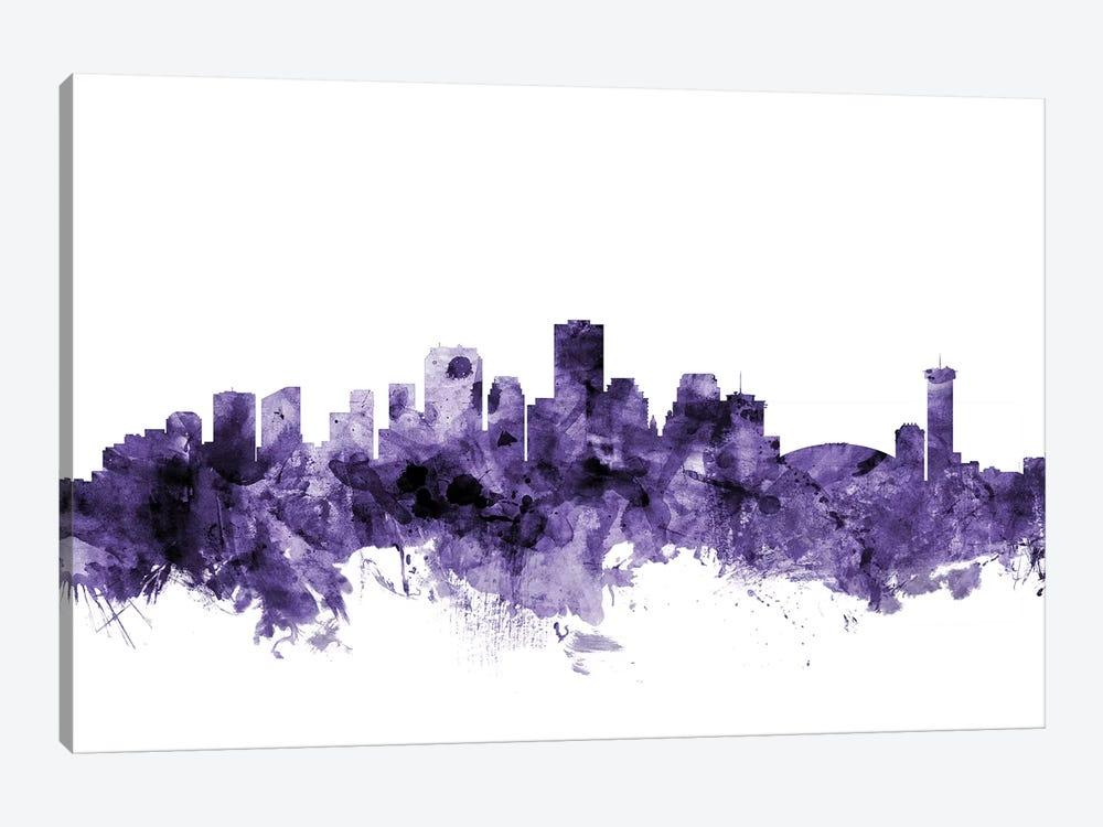 New Orleans, Louisiana Skyline by Michael Tompsett 1-piece Canvas Art