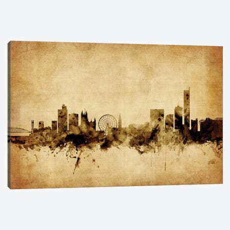 Manchester, England, United Kingdom Canvas Print #MTO65} by Michael Tompsett Canvas Art