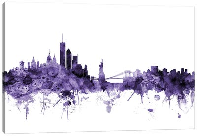 New York City Skyline II Canvas Art Print