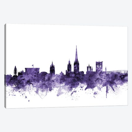 Norwich, England Skyline Canvas Print #MTO662} by Michael Tompsett Canvas Print