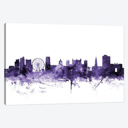 Nottingham, England Skyline Canvas Print #MTO663} by Michael Tompsett Canvas Print