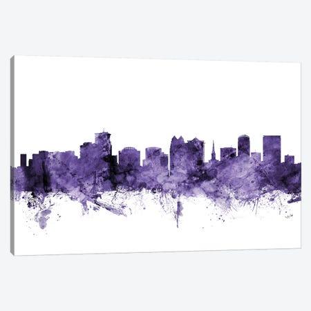 Orlando, Florida Skyline Canvas Print #MTO665} by Michael Tompsett Canvas Artwork